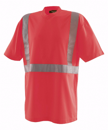 Blaklader 3313 High Visibility T-Shirt (Red)